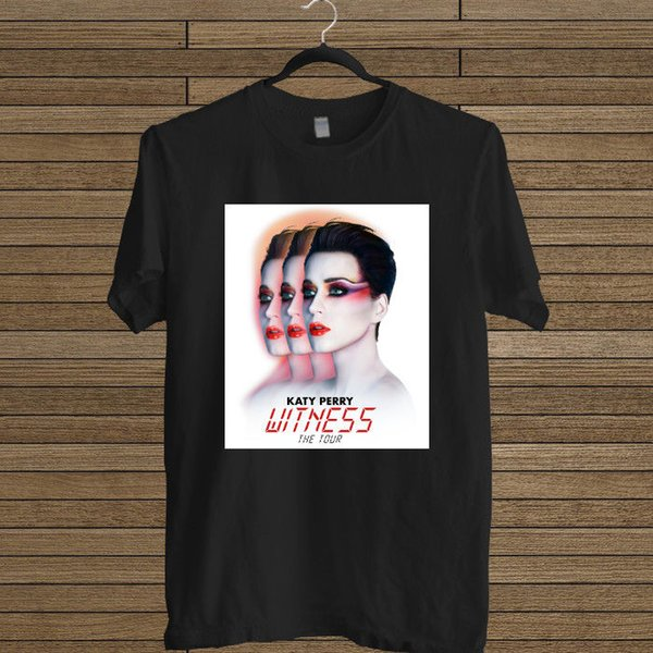Katy Perry Witness Poster Album Logo T-shirt Size S-5XL Brand size discout hot new tshirt