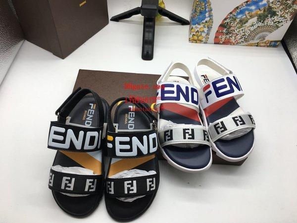 Новые Продажи2019 Детские Бренды Обувь Летние сандалии мальчики пляжная обувь девочки конфеты цвета сандалии милые сандали Сандалии