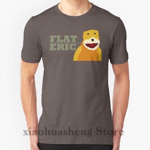 100% хлопок o-образным вырезом мужчины футболка пользовательские печатные футболки плоские Эрик женщины