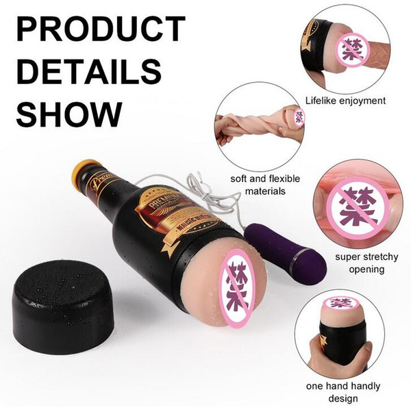 WeLove_ Adult Sex Toys Men's Electric Beer Plane Cup True Yin Name Mold Masturbation Cup Inflatable Doll Birthday Spoof Gift WCR0267