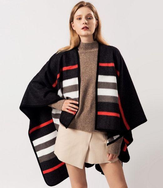 Nouvelle écharpe des femmes en automne et en hiver avec climatisateur chaud à double usage bande classique de liaison du Cap