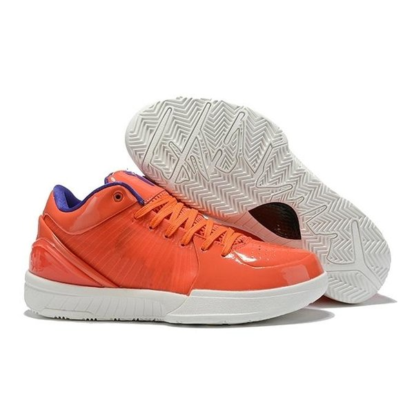 Nike Kobe 4 Protro ZK4 Men's Gray White Red Basketball Shoes