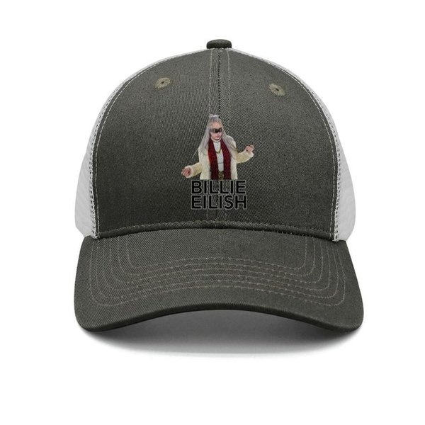 Billie Eilish Breaks Down army-green mens and women trucker cap baseball styles fitted design your own hats
