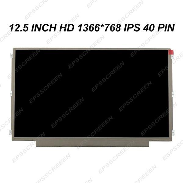 NEW 12.5'' Laptop lcd screen IPS Display FIT for LENOVO S230U K27 K29 X220 X230 matte HD 40 PIN MATRIX