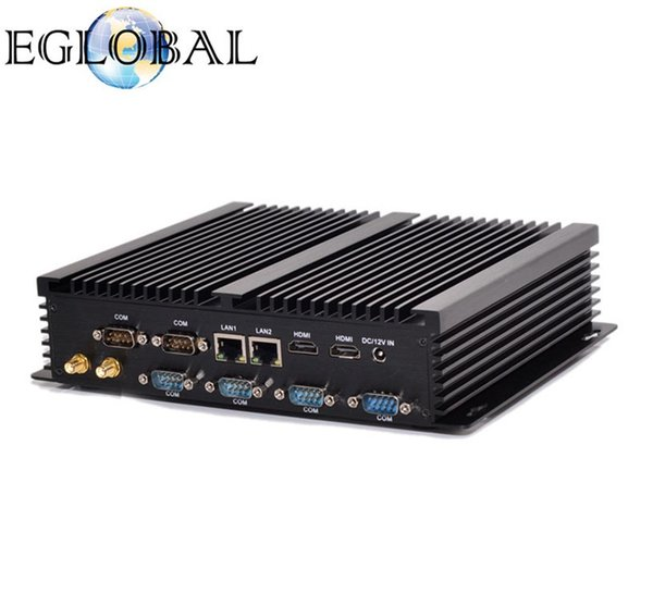 EGLOBAL Pos Systems Mini PC Intel CPU 5005U With 4 RS232 COM Intel Core i3 processor CPU Integrated computer motherboard gaming Desktop