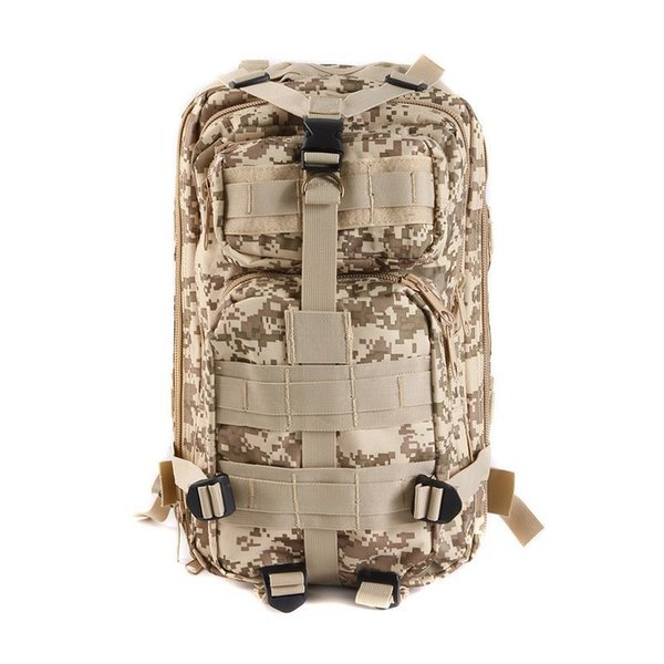 Cross Border Fashion 3P Military Fans Tactical Camouflage Backpacks Waterproof Outdoor Leisure Sports Bag Super Light Mountaineering Bags