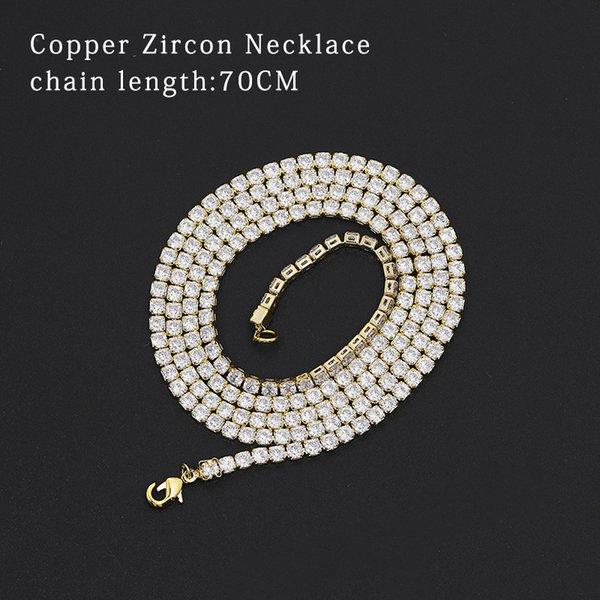Zirconium stone chain