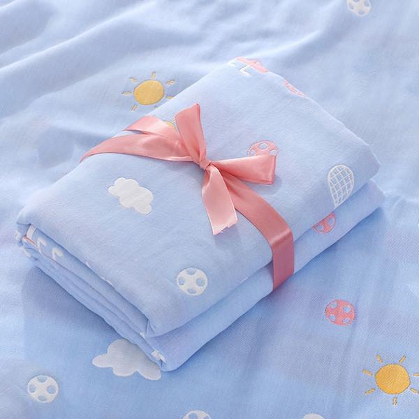 racket blue square towel-110x110