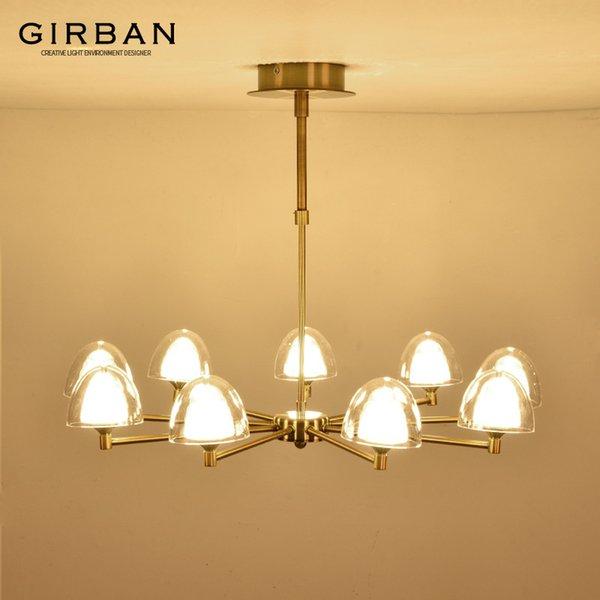 best selling Living room chandelier modern restaurant creative personality atmosphere light luxury bedroom lamp Nordic style pendant lamp