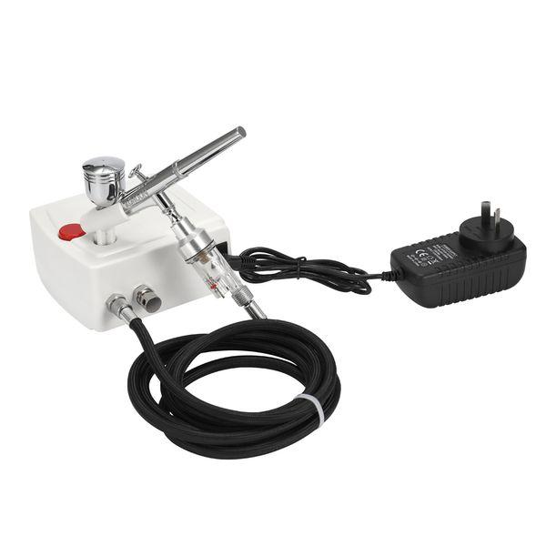 KKmoon Dupla Ação Airbrush Kit Compressor de Ar AirBrush para Art Pintura Craft Bolo Spray Model Air Brush Prego Tool Set