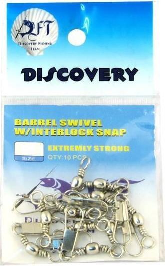 top popular Discovery Nickel Swivel Clip No: 3 0, 1 10 Ship from Turkey HB-001156985 2019