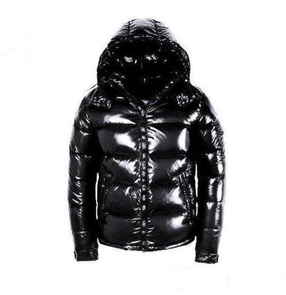 Men's Winter Warm Maya White Duck Down Jacket Mens Casual Outdoor Shiny Matte Down Coat Man outerwear jackets parkas