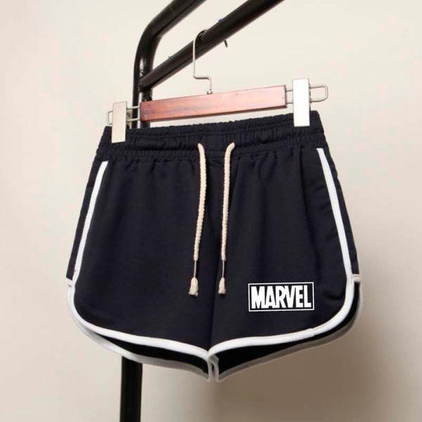 2019 Summer vintage pantalones cortos de cintura alta mujeres sexy biker shorts short feminino algodón neon green black shorts pantalones de chándal