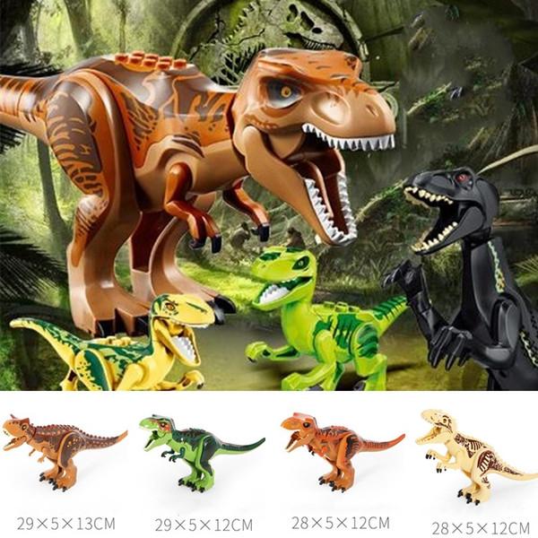 DIY toys Dinosaur Series Toys Big Dinosaurs Child Toy Dinosaur Building Block Dinosaur Model toy Decorative Objects T8G003