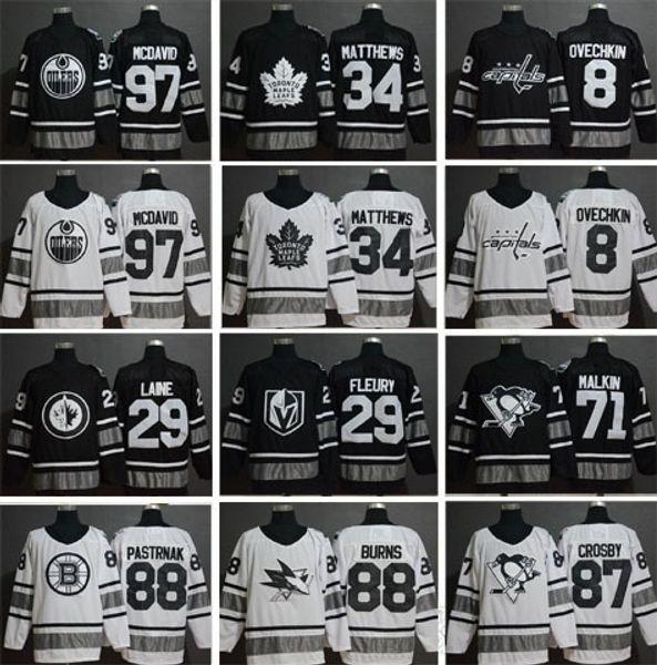 2019 All Star Hockey 59 Roman Josi 86 Nikita Kucherov 65 Erik Karlsson 26  Blake Wheeler 88 David Pastrnak 9 Jack Eichel Jerseys 61f58b62d