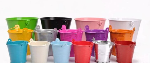 top popular High quality, low price, factory direct sales mini pails wedding favors, mini bucket, candy boxes favors,favor tins 2021