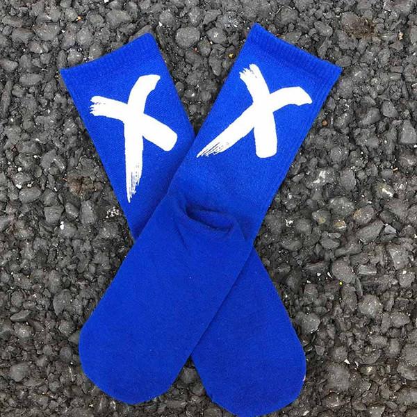 Bleu Chaussettes