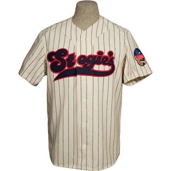 Tampico Stogies 1957 Home Jersey 100% loghi ricamati Maglie da baseball vintage Personalizzato Qualsiasi nome Qualsiasi numero Spedizione gratuita
