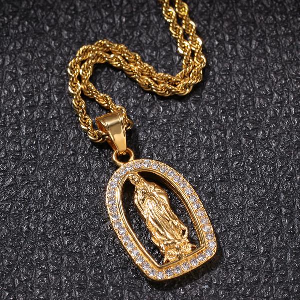 Gold 4,1 * 2,3 cm, 3 mm 24-Zoll-Twist-Kette