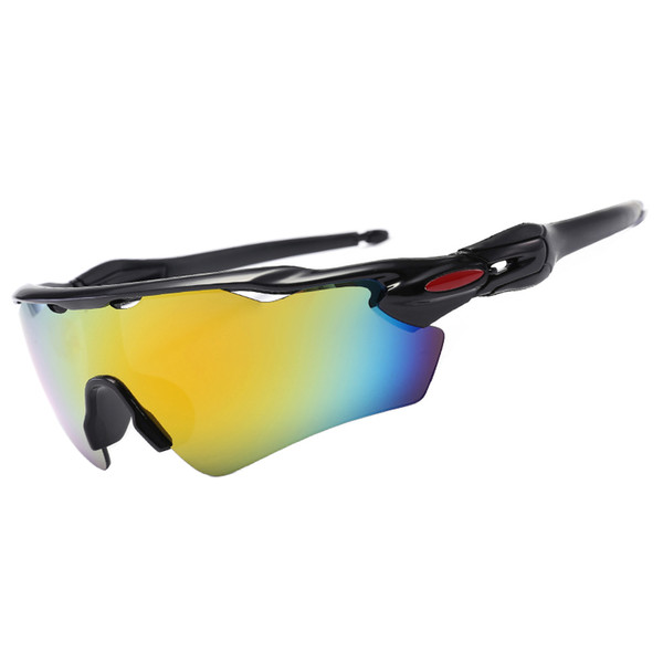 New top quality sports men and women outdoor sunglasses riding glasses bicycle mountain bike bicycle cycling riding fishing sunglasses