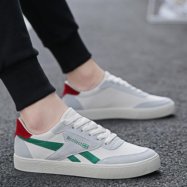 Chaussures de sport Lac-up Chaussures pour hommes Léger Confortable Couleurs mélangées Respirant Baskets Tenis Feminino Zapatos