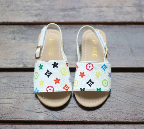 89a253010600 New Summer Boys and girls sandals baby shoes toddler slippers Cow Muscle  outsole children shoes fashion