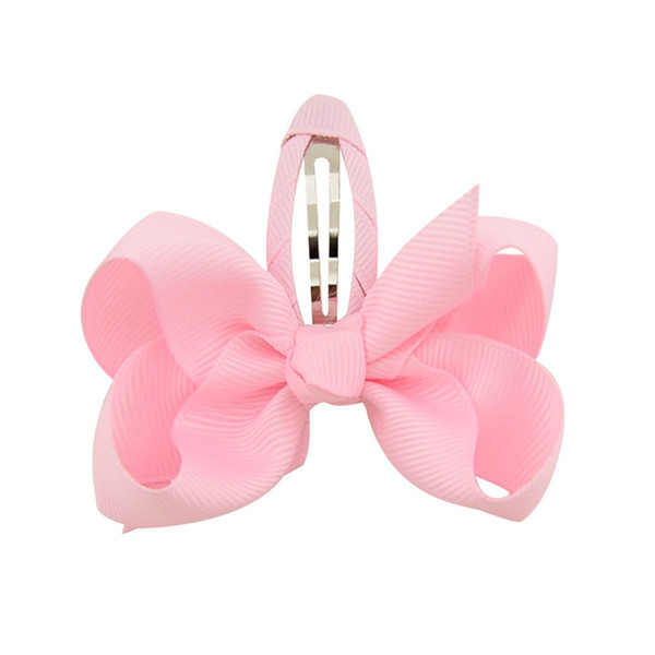 20 colori baby girl bow barrettes Capelli bowknot Bambini Copricapo Bambini Hairpin Hair Clips Baby designer fasce Ragazze accessori per capelli