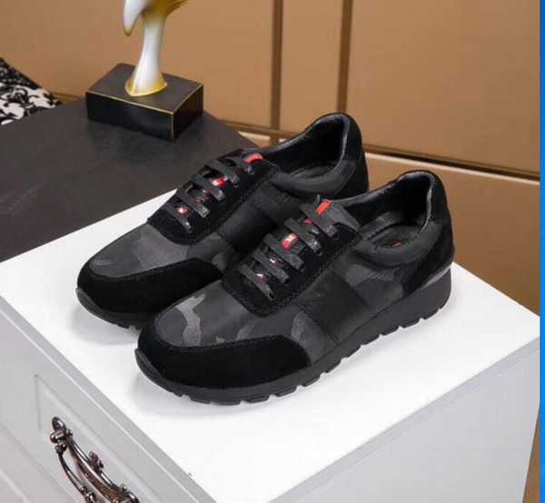 New Brand Men'S Casual Shoes Europe And The United States High End Style Black British Wind Men'S Shoes Youth Trend My889611 Comfort Shoes Sneakers
