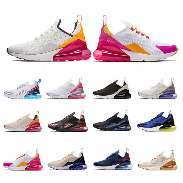 270 Philippines Cushion Running Shoes 27C TFY Vibes Regency Purple Wolf Grey Be True Black White Trainer Sport Designer Sneaker Size 36-45