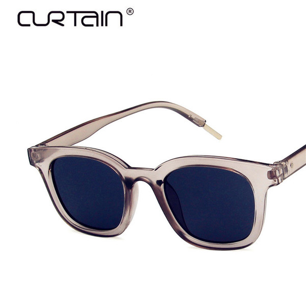 CURTAIN Brand Design Classic Sunglasses Men Women Driving Square Frame Sun Glasses Male Female Eyewear Goggle UV400 Gafas De Sol