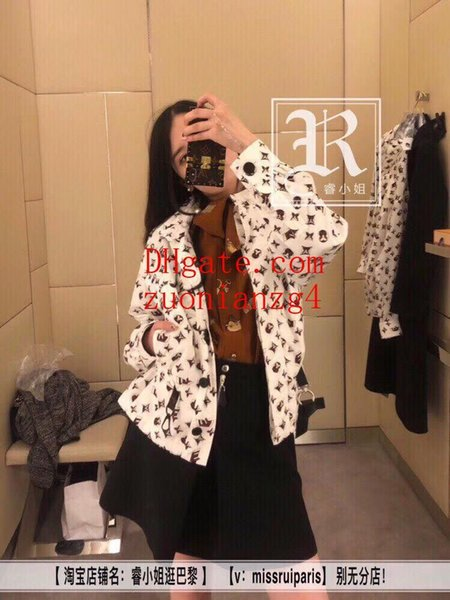 Mulheres roupas Clássico Impresso Elástico Na Cintura de Manga Longa Com Capuz Protetor Solar Casaco casual solto curto casaco de lã mulheres mulheres jaqueta ACF-7