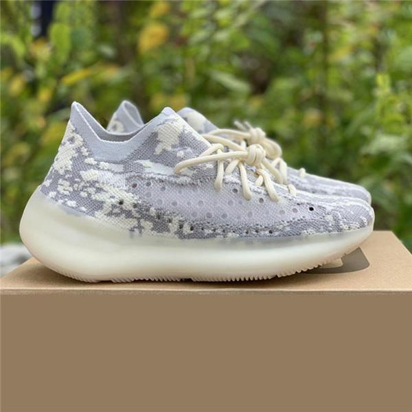2019 gros Kanye West V3 Ange Noir Alien son Jaune vague Runner Chaussures de course Chaussures de sport de sport guerriers en terre cuite Designer Shoes