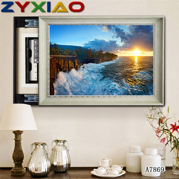 # Ocean Tiger Pattern Diamond Painting Stitch 5D Home Decoration Art Picture UK