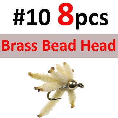 8PCS Brass SIZE 10