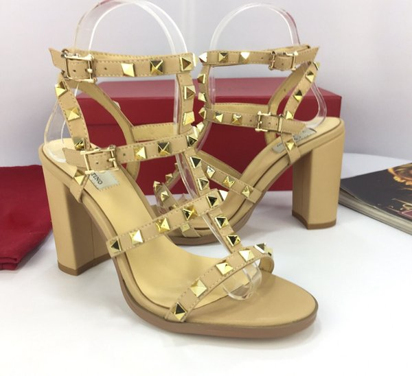 Women's Summer Sandals Women's Sandals High Quality Top Luxury High Heels European Platform Fashion Classic Hot Sale Style Factory Outlet Si