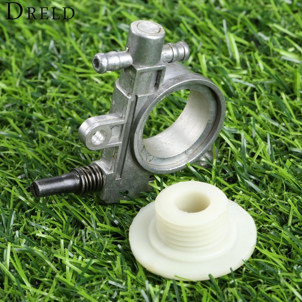 oil DRELD Oil Pump for 2500/3800 Chainsaw Spare Parts with Worm Drive Gear for Chain Saw 25CC/38CC Garden Tool Parts