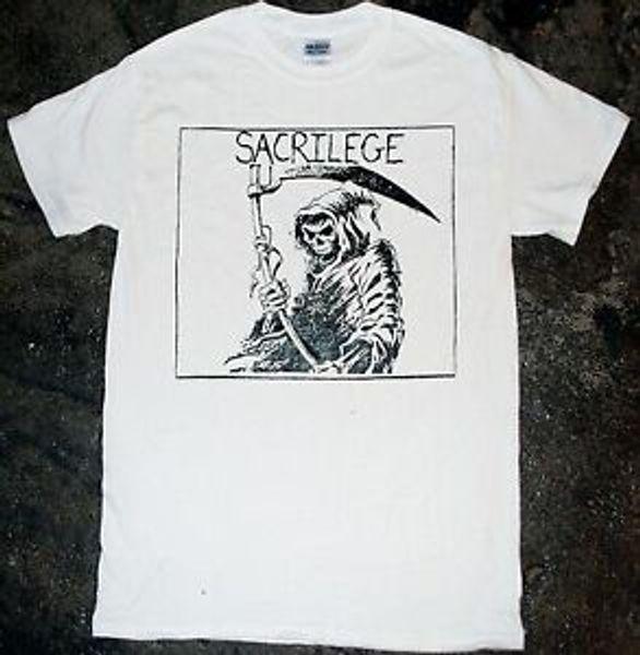 Sacrilege - 'Grim Reaper' T-shirt (serseri inepsi boşalma crass varukeers kbd)