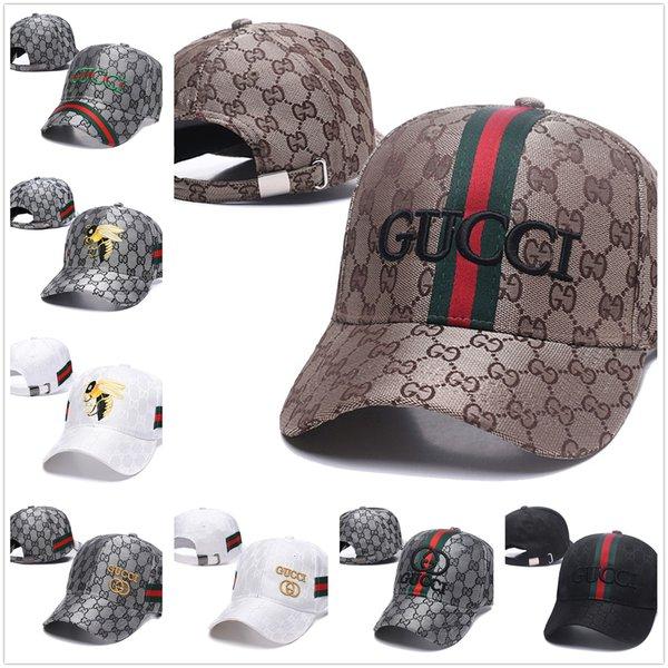 lengua de pato protección solarGucci sombrero modelo de la abeja bordado gran marca alero curvo deportes al aire libre sombrero al aire libre parasol