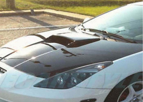 top popular For 00-05 Celica Zzt231 C1 Hood Bonnet Air Intake Scoop Black Primer Unpainted 2021