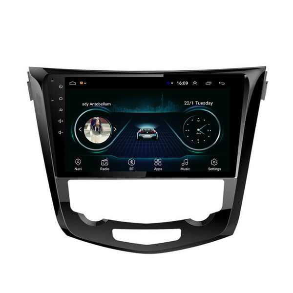 """Android car GPS with radio AM FM vidio multimedia player auto stereo Resolution HD 1024 * 600 for Nissan X-trail Qashqai 2013-2019 10.1"""""""