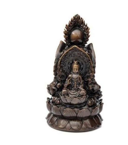 NEW + Three copper Buddha Ksitigarbha Shakya Muni Buddha Avalokiteshvar