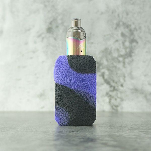 черный + фиолетовый
