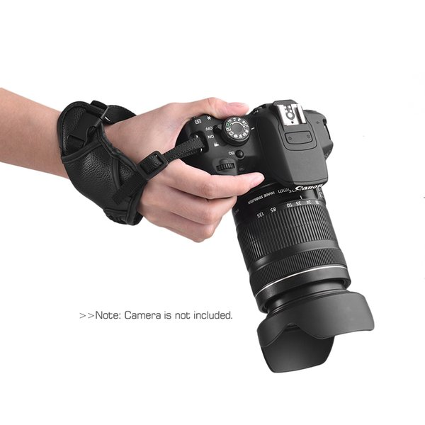 Strap Leather Camera Padded Wrist Grip Strap Camera Accessories for Nikon/ Canon/ Sony/ Olympus Pentax/ Fujifilm/ DSLR
