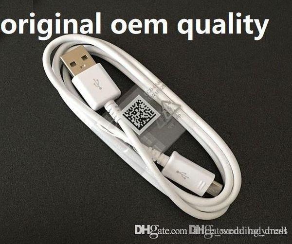 Cable S4 V8 Cables Micro USB Cable de carga de Android Adaptador de cargador de cable de datos para Samsung Galaxy S6 S7 Note4 HTC Huawei Teléfono móvil