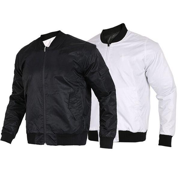 Vestes Designer Homme Fashion Style Manteau Windbreakers Automne manches longues Casual vestes pour hommes Couleur Blanc Noir avec étiquette Taille S-2XL