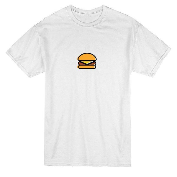 Coole Basic Cheeseburger Food Graphic Herren T-Shirt Mens 2018 Mode Marke T-Shirt Oansatz 100% Baumwolle T-Shirt Tops T-Shirt benutzerdefinierte