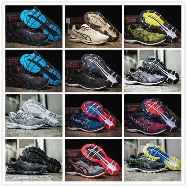 Envío gratis 2019 nuevo GEL Nimbuses 20 hombres zapatillas Vermeil verde oliva T800N deporte zapatillas de deporte transpirables zapatos de diseñador para hombre
