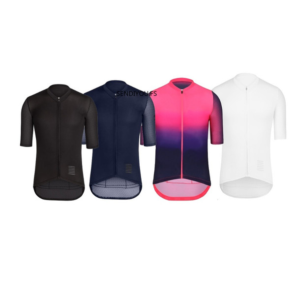 SENDIYOU.FS Wear better Top Quality PRO TEAM AERO CYCLING Jerseys Short sleeve Bicycle Gear race fit cut fast speed road bicycle top jersey