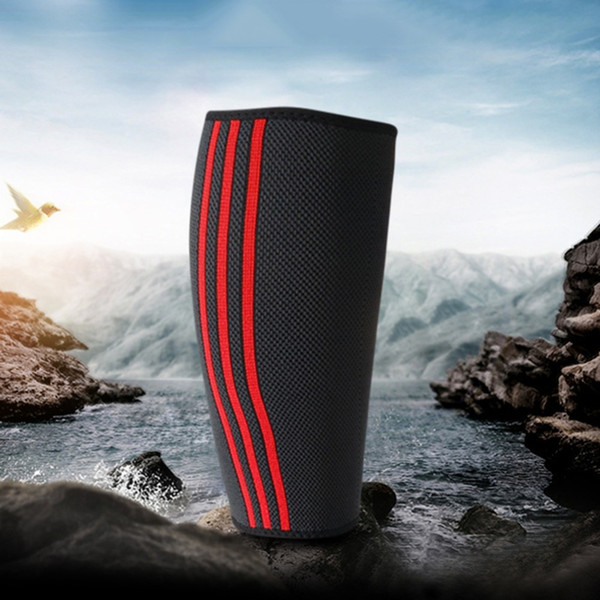 New 1pc Leg Sleeve Cover Casual Style Printed Lightweight Neoprene Legwarmers Outdoor Sports Accessories