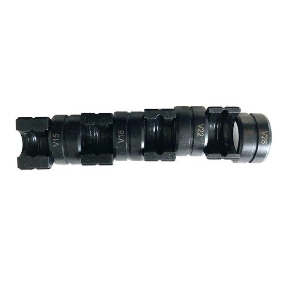 V Dies for Hydraulic Pipe Pressing Tools V15, V18, V22 & V28mm, applicable for European Market. TH, U, M,&VAU dies available
